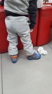 נעלי צעד ראשון לדוגמא